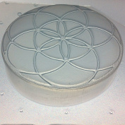 Flexible Soap or Resin Orgone Mould Sacred Geometry Seed of Life