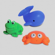 SET OF 3 SQUIRTER SEA LIFE ANIMALS CHILDISH MULTICOLOR