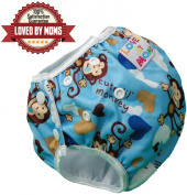 Reusable Swim Nappy-Potty Training Pants-Waterproof Nappy Cover for Toddlers