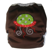 Reusable Waterproof Cloth Nappy Cover /Adjustable One-size 3.6-16kg/ PUL