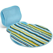 Built Boys Nappy Buddy Changing Pad Blue Stipe