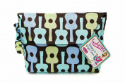 Sister Chic Tushy Tote Nappy and Wipes Case, Boy Guitar