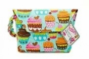 Sister Chic Tushy Tote Nappy and Wipes Case, Sweet Treats