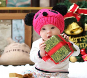 Amcctvshop 1pc Fashion Cute Baby Kids Girls Boys Stretchy Warm Winter Panda Cap Hat Beanie