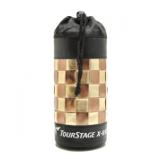 Zarapack Pu Leather Insulated Drawstring Thermal Bottle Bag