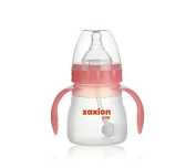 Zaxion 140ml Wide Neck One-colour Handle Full Silicone Bottle