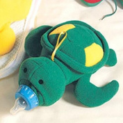 Infant Baby Milk Bottle Bag Cartoon Feeder Warm Keep Toy Tortoise