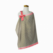 Trend Lab Cocoa Coral Nursing Cover, Pink