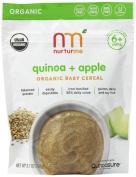 NurturMe Organic Infant Cereal, Quinoa Plus Apple, 110ml