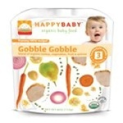Happy Family Brands Organic Baby Food Gobble Gobble Stage 3 (7+ mos.) 120ml