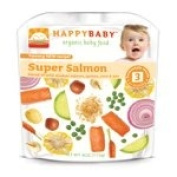 Happy Family Brands Organic Baby Food Super Salmon Stage 3 (7+ mos.) 120ml