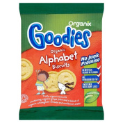 Organix Goodies Organic Alphabet Biscuits 12mth+