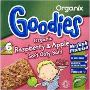 Organix Goodies Organic Soft Oaty Bars - Raspberry & Apple 12mth+
