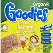 Organix Goodies Organic Soft Oaty Bars - Banana 12mth+