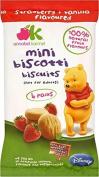 Annabel Karmel Disney Mini Biscotti Biscuits 12mth+ Strawberry & Vanilla