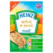 Heinz Apricot & Peach Muesli 10mth+