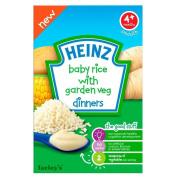 Heinz Baby Rice & Garden Veg Dinners 4mth+