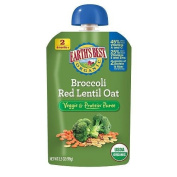 Earth's Best Baby Foods Broccoli Red Lentil Oat