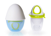 [Award winning] Kidsme Food Feeder Plus in Egg Shell
