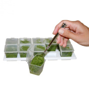 10 Pesto Cubes w/ Tray & Covers 30ml for Smaller Portions Perfect for Baby, Herb, Broth & Sauce