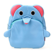 Children Kids Kindergarten Backpack Shoulders School Bag Cute Elephant Shape