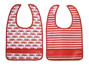 Lunchskins Dishwasher Safe Pocket Bib Set