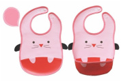 Cute Animal Waterproof Feeding Bib for Boys and Girls 02
