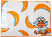 KidKusion High Chair Splat Mat, Orange
