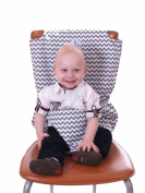 PeelCo Le Petit Toddler Technlogy Grey Portable Chair Harness Baby Seat