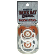 Officially Licenced NCAA Texas Longhorns College Colours Infant/Baby Pacifer