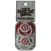 Officially Licenced NCAA Indiana Hoosiers College Colours Infant/Baby Pacifer
