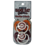 Officially Licenced NCAA Virginia Tech Hokies College Colours Infant/Baby Pacifer
