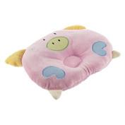Soft Cotton Piggy Pig Shaped Baby Newborn Infant Toddler Sleeping Support Pillow Prevent Flat Head Flathead