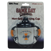 Officially Licenced NCAA Illinois Fighting Illini College Colours Infant/Baby No Spill Mug