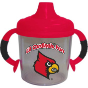 Officially Licenced NCAA Louisville Cardinals College Colours Infant/Baby No Spill Mug
