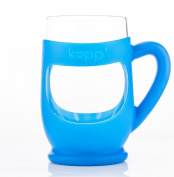 THE KUPP' Glass Drinking Cup, 180ml, 1 pack, Blue