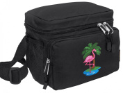 FLAMINGO Lunch Bag Cooler Pink Flamingos - Lunchbox
