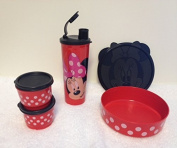 Tupperware Minnie's Magical Lunch Snack Set 4pc