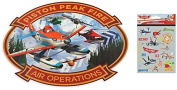 Disney Planes Fire & Rescue Placemat with Disney Planes Stickers