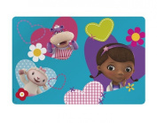Zak Designs Character Placemats for Kid Children Toddler Meals Cleanup Kitchen Table Picnic Fun Images Popular Disney Cartoon