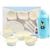 Baby tableware, baby cutlery, tableware food supplement, holding water bottles