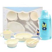 Baby tableware, baby cutlery, tableware food supplement, holding water bottles