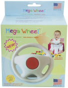 Mega Seat Mega Wheel, White/Red