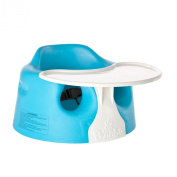 Bumbo Floor Seat and Play Tray Set, Blue