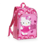 Hello Kitty Pink Camo 41cm Backpack - back to school