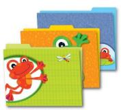 Funky Frogs File Folders
