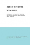 Oberrheinische Studien Band III [GER]