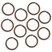 Vintaj Natural Brass Open Jump Rings 15mm Heavy 15 Gauge