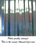 Bezel Wire Cloisonne Strip .999 Fine Silver Flat .150cm X .13cm