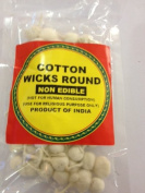 Cotton Wicks Round 14grams
